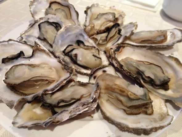 海蛎子:开锅后蒸三分钟