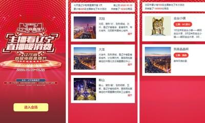 示劍網絡祝遼寧首屆電商直播節圓滿成功
